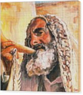 Blow The Trumpet In Zion Wood Print