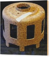 Blowout Preventer Wood Print