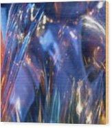 Blue 160 Wood Print