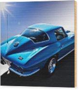 Blue '67  Wood Print