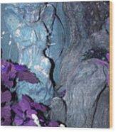 Blue Angel Wood Print
