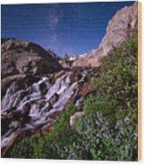 Blue Bell Falls Wood Print
