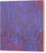 Blue Blue I Love You. Wood Print