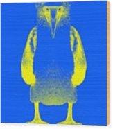 Blue Booby Wood Print