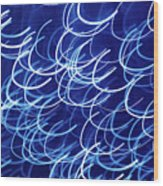 Blue Breasts Wood Print