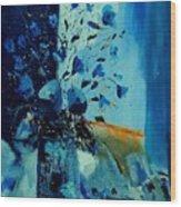 Blue Bunch 45 Wood Print