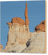 Blue Canyon Finger H Wood Print