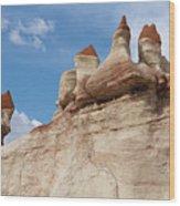 Blue Canyon Minarets Wood Print