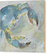 Blue Crab. Wood Print