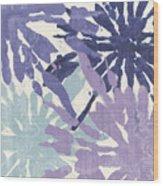 Blue Curry II Wood Print