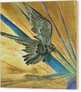 Blue Genesis   Wood Print