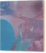 Blue Haze Wood Print