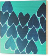 Blue Heart Collective Wood Print