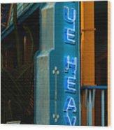 Blue Heaven Wood Print