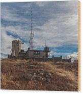 Blue Hill Weather Observatory 2 Wood Print