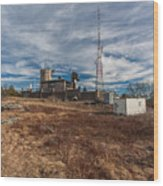 Blue Hill Weather Observatory Wood Print
