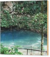 Blue Hole National Park Wood Print