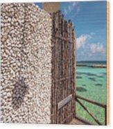 Blue Lagoon View 1 Wood Print