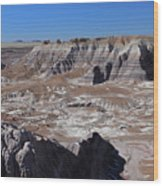 Blue Mesa Wood Print