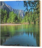 Blue Mood In Yosemite Wood Print