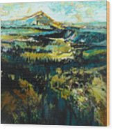 Blue Mountains Wood Print