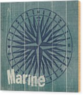 Blue Nautical-jp3616 Wood Print