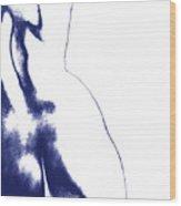 Blue Nude No. 2 Wood Print