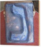 Blue Nun Wood Print