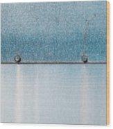 Blue Over Blue 03 Wood Print