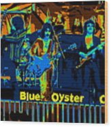 Blue Oyster Cult Jamming In Oakland 1976 Wood Print