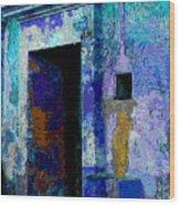 Blue Passage By Michael Fitzpatrick Wood Print