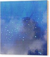 Blue Reflection Iv Wood Print