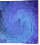Blue Rendevous Wood Print