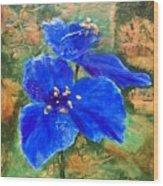 Blue Rhapsody Wood Print