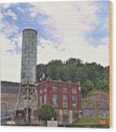 Blue Ridge Dam 4 Wood Print