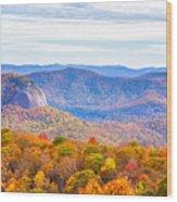 Blue Ridge Mountains 1 Wood Print