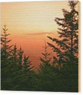Blue Ridge Parkway 1 Wood Print