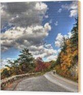 Blue Ridge Parkway, Buena Vista Virginia 4 Wood Print