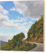 Blue Ridge Parkway, Buena Vista Virginia 6 Wood Print