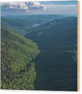 Blue Ridge Parkway Rainbow Gap Wood Print