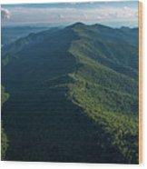 Blue Ridge Parkway Shadow Wood Print
