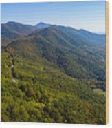 Blue Ridge Parkway5 Wood Print