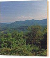 Blue Ridge Pkwy Wood Print
