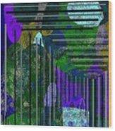Blue Ridge Progression Wood Print