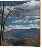 Blue Ridge Thornton Gap Wood Print