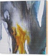 Blue River 2 Wood Print