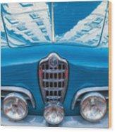 Blue Romeo Wood Print