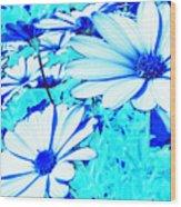 Blue Season Wood Print