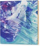 Blue Storm Wood Print