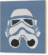 Blue Trooper Wood Print by Jera Sky
